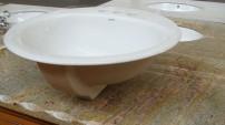 LC Stone  Bathroom Sink S5