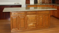 LC Stone Kitchen Cabinet